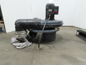 Dayton 3AA21B 2Hp Portable 2-Stage Dust Collector 1310 CFM 230/460V 3Ph