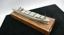 Solid Metal Mitsui OSK lines Container Ship Model Rare With Box