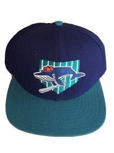 vtg DS Lahaina Whalers snapback hat cap milb hawaii winter baseball new era mlb