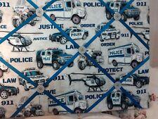 La 00004000 w Enforcement Themed Memory Board with Hooks