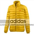 $240 men ultra light down jacket REAL GOOSE Packable Adidas Men's Warm XS S L