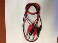 """lot of 2 Non Brand  B-36 36"""" STACKABLE BANANA PLUG TEST LEAD  PATCH CORD CABLE"""