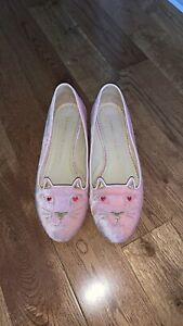 Pre owned Charlotte Olympia flats size 6
