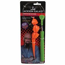 Petmate Jackson Galaxy Ground Prey Wand with Iguana Toy for Cats