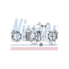 Genuine Nissens A/C Air Con Compressor - 89076