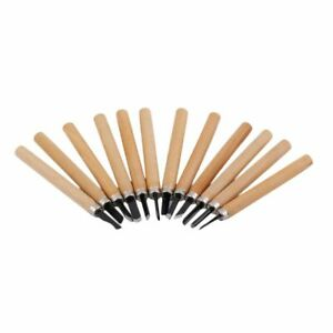 12PCS/Set Wood Carving Cutter Set Woodcraft DIY Tools Hand for Woodworking M