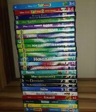 24 Disney DVDs für Kinder aus Sammlung Pixar Walt Disney