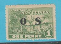NEW GUINEA O1 OFFICIAL MINT NEVER HINGED OG ** NO FAULTS EXTRA FINE !