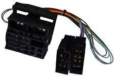Adaptateur faisceau câble fiche ISO autoradio pour VW RS200 RCD100 RCD200 RCD300