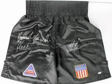 Mike Tyson 'Baddest Man On The Planet' Signed Tyson Model Boxing Trunks PSA ITP