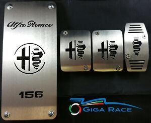Pedales para Alfa Romeo 156 1 3 Serie Pedal Reposapiés Pedales Cubre Pedal