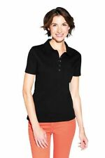 Kurzarm Damenblusen, - tops & -shirts aus Baumwolle mit L