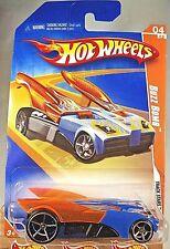 2009 Hot Wheels #58 Track Stars 4/12 BUZZ BOMB Blue Orange Wings w/Chrome OH5 Sp
