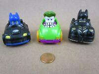 Fisher-Price Little People TM&DC Batman, Joker & Adam West Batman Mini Racers, 3