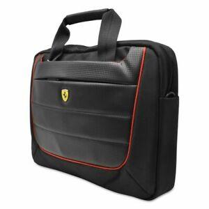Ferrari FECB13BK Scuderia 13 inch Computer Bag (Black/Red)