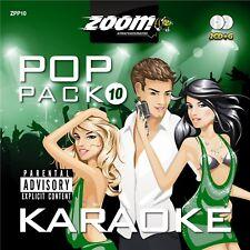 Zoom Karaoke Pop Pack Series CD+G - Volume 10 - 40 Songs on 2 CD+G Discs!