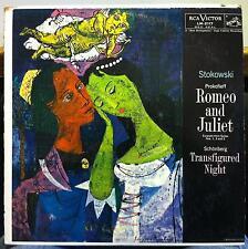 LEOPOLD STOKOWSKI prokofieff romeo & juliet LP VG+ LM-2117 RCA Canada 1957 Mono