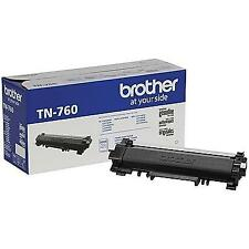 Brother TN760 Original Black Toner Cartridge High Yield For DCP-L2550DW