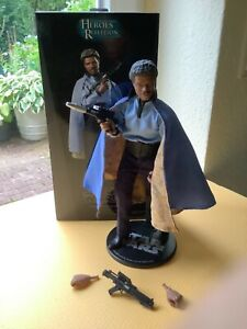 Star Wars Sideshow 1/6 Lando Calrissian Bespin 1:6 Scale Figure Heroes Of The Re