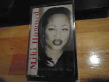 SEALED RARE OOP Miki Howard CASSETTE TAPE Can't Count Me Out r&b Penny Ford TTD