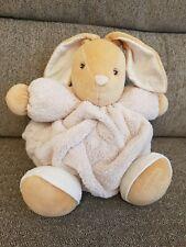 Kaloo Cream PLUME Bunny Rabbit Teddy Baby Soft Toy Plush Comforter Doudou Lapin