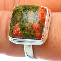 Unakite 925 Sterling Silver Ring Size 9 Ana Co Jewelry R34359F