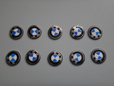 10PC 11mm BMW automatic folding car remote control key metal aluminum logo badge
