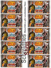 Star Wars - Rebel Attax Serie 1 - 10-Booster a 5 Karten -  Deutsch