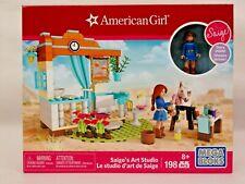 Mega Bloks AMERICAN GIRL Saige's Art Studio