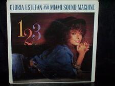 "GLORIA ESTEFAN and MIAMI SOUND MACHINE 1 2 3 - AUSTRALIAN 7"" 45 VINYL RECORD P/S"