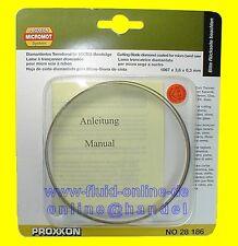 PROXXON 28186 Bandsägeblatt diamantiert für Bandsäge MBS240/E 27172 - NEU