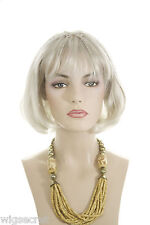 Medium Short Straight Skin Top Wigs With Tiny Thin Braids Arty Youthful Look