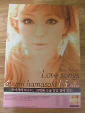 AYUMI HAMASAKI - LOVE SONGS [ORIGINAL POSTER] J-POP