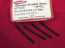 KYOSHO, MEGA FORCE, ADJUSTABLE RODS x 4, 50mm, VINTAGE, MT029, MT29