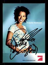 Arabella Kiesbauer Pro 7 Autogrammkarte Original Signiert # BC 86074
