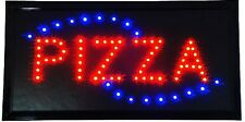 Animated Motion Led Restaurant Bbq Club Pizza Sign Onoff Switch Open Light Neon
