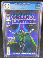 The Green Lantern Season Two #7 CGC 9.8 2020 DC Comics Megamortals A341