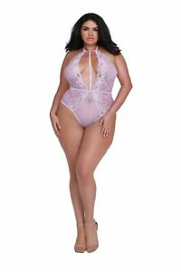 11607 Teddy, Lilac, One Size Queen