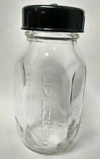 Antique Glass Evenflo Baby Bottle, 4 Oz., Nice