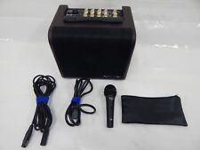 Vox AGA30 Acoustic Guitar/Mic Amp w/ Audix F50 Dynamic Vocal Microphone