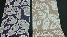 Wall fashion Feature Wallpaper Purple with cream and beige with cream