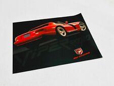 1993 Dodge Viper R/T10 Information Sheet Brochure
