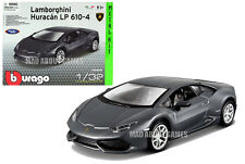 LAMBORGHINI HURACAN 1:32 Model Toy Car KIT Die Cast Models Miniature Grey