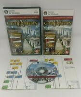 Sid Meier's Civilization IV Complete Edition Civ 4 PC DVD-ROM Video Game Manual