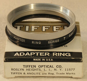 TIFFEN Series 7 Adapter Ring 58 M 7 with Retaining Ring