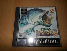 FISHERMAN'S Bait 3 Pal PS1 Buen Coleccionistas