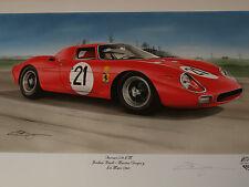 Jochen Rindt Le Mans 1965 Nart Ferrari 250LM 250 LM impresionante