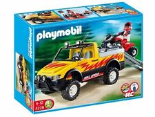 Playmobil City Action 4228 - Pick-Up con Quad de Carreras - New and Sealed