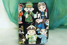 Geldbörse Geldbeutel Portemonnaie Börse für Damen Motiv Kokeshi Puppen Kimmidoll