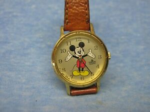 Women's MICKEY MOUSE Watch by LORUS w/ New Battery